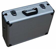 Aluminum Tool Storage Case Travel Barber Key Handle Shoulder Strap Pouches Slots
