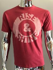 Junk Food RISE AND SHINE RED COLOR T-SHIRT Size S