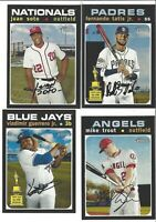 2020 Topps Heritage Short Print SP Lot From  401-500 You Pick TROUT TATIS  Acuna