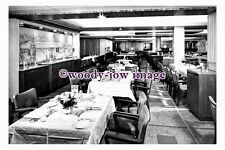 pu0871 - Canadian Pacific Liner - Empress of Britain - photograph of Dining Room