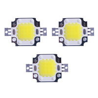 3Pcs 10W 900LM LED Bulb DC 9-12V 900mA IC SMD Lamp Light White High Power