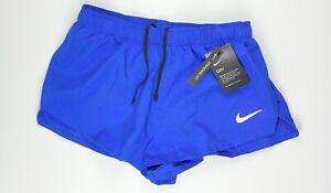 "Nike Fast 2"" Running Dri Fit Reflective Shorts CJ7845-405 Medium $35"