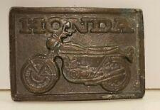 vintage HONDA MOTORCYCLE BELT BUCKLE biker