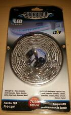 "Shoreline Marine 74.4"" Flexible LED Strip Light SL91859 Blue 12 Volt Boat"