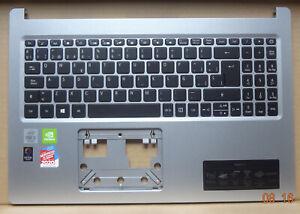 #014 ACER ASPIRE 5 Tastatur + Oberteil silber spanisch Spain SV05P_A72BWL