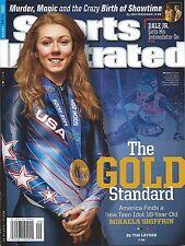 Sports Illustrated 3/3/14 Mikaela Shiffrin GOLD STANDARD Team USA 2014 Sochi Win