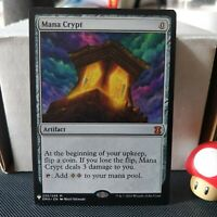 1x MANA CRYPT (Mystery Booster) NM Mythic Rare / English Magic MTG