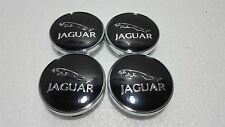 Jaguar New Emblem Alloy Hub Wheel Centre Caps 60 MM , XF, XJ, XJR XJ6 X, S TYPE*