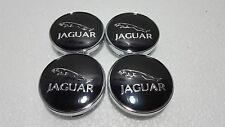 Jaguar New Emblem Alloy Hub Wheel Centre Caps 60 MM , XF, XJ, XJR XJ6 X, S TYPE*