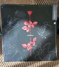 Depeche Mode autographed Violator LP. 3/20/90 the day of the DM riot.