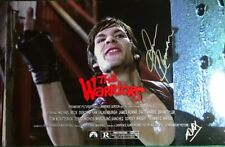 THE WARRIORS JAMES REMAR as AJAX Signed 11x17 photo Giving The Finger