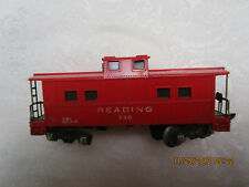 Vintage American Flyer Train Railroad Car Red Caboose READING 630 w/ Light