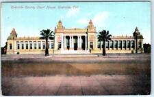RIVERSIDE, California  CA   RIVERSIDE COUNTY COURT HOUSE  ca1910s     Postcard