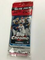 2019 Topps Chrome BASEBALL Update Value Pack - 3 packs + pink refractors Tatis?