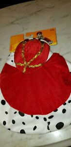 Pet clothes, King Hat and cape, M, Brand New with packaging, free shipping