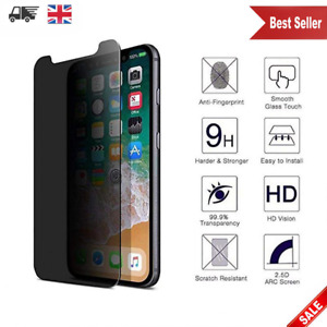 New Anti Spy Matte Privacy Tempered Glass Screen Protector For Apple iPhone XR