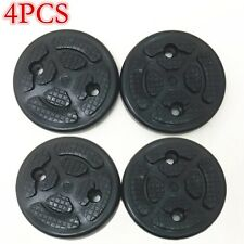 4x Round 120*25mm Heavy Duty Rubber Arm Pads Car Lift Accessories Universal New