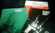 3 Rca Thyristor Rectifier Catalog Guides Matrix Assemblies Bridges 1970-1974