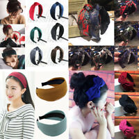 New Women Girl Headband Hairband Hair Band Hoop Holder Boho Headwear Accessories