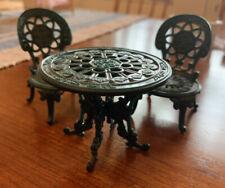 Sylvanian Families Calico Critters recargado conjunto de mesa y sillas de jardín