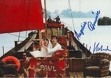 Winfried Glatzeder & Angelica Domröse Autogramme signed 20x30 cm Bild