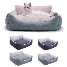 Soft Pet Nest Bed Warm Plush Sleeping House Dog Bed Cat Winter Mats -L/S