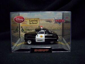 Disney Pixar Cars Disney Store Exclusive Sheriff Police Car.