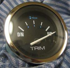 Teleflex 73742 Prism Line Trim Gauge Merc/Mariner I/O  O/B/OMC Cobra/Volvo DP/SX