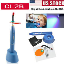 New Dental 10w Wireless Cordless Led Curing Light Lamp 2000mw Device Easy Us