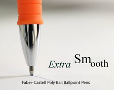 Faber Castell Poly Ball XB Extra Broad Tip Ballpoint Pens 5 Colours Refillable