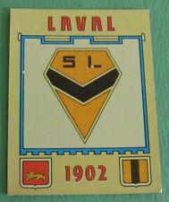 N°73 BADGE ECUSSON WAPPEN LAVAL STADE LAVALLOIS SL PANINI FOOTBALL 83 1982-1983