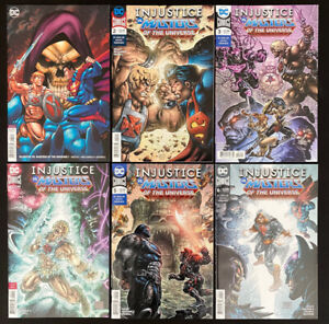 Injustice VS Masters of the Universe #1-6 (DC 2018) He-Man DC crossover full set