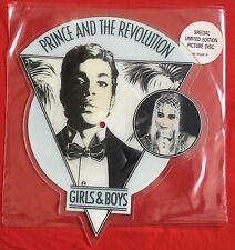 PRINCE- Girls And Boys - Very Rare UK Shaped Picture Disc in Stickered Sleeve