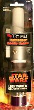 Star Wars light-up Darth Vador's Lightsaber Gel Glue Stick Factory Seal 2005 New