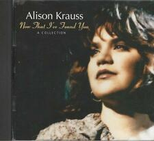 Music CD Alison Krauss Now That I've Found You Collection