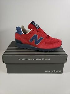 New Balance US574XAD Made In USA Connoisseur Red Men's Size 7 ,Women's 8.5