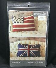 Patriotic Pillows by Crossroads Amy Barickman Indygo Junction Sewing Pattern