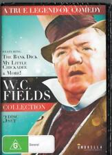 W.C FIELDS COLLECTION - 3 DISC SET - NEW & SEALED  REGION 4 DVD FREE LOCAL POST