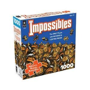 Nature's Beauty Butterflies Impossibles 1000 Piece Puzzle