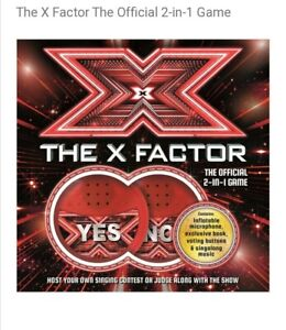 The X Factor 2-in-1 Family Entertainment Singing Game Brand New Boxed