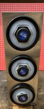 San Jamar C2803 Ez-Fit Stainless Steel 3-Slot Vertical 8-44 oz. Countertop