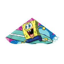 "Kite Sponge Bob SkyDelta(tm) 42"" POLY Kite w/ Tails Handle String XL3 - 81650"