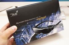 Accupix Mybud 3D Viewer 100 inch Head Mount Display Virtual Screen Glasses