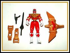 2010 Mighty Morphin Power Rangers _ Dino Flyer _ Power Up _ Red Ranger / Jason