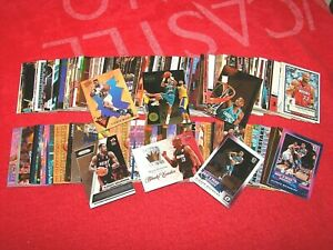 ALONZO MOURNING HEAT NETS HORNETS HOF LOT OF 280 CARDS WITH 105 INSERTS (18-65)