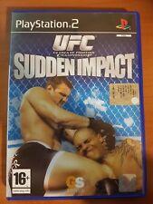 UFC SUDDEN IMPACT - PLAYSTATION 2 PS2 USATO