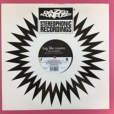 Big Life Casino – My Ministry (The Dazed & Confused Mixes) SPLASH001-R Ex A1/B1