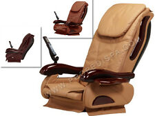 Full function acetone proof upholstery w air seat massage for pedicure spa chair