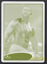 WWE 2012 (Topps) ACTUAL PRINTING PLATE CARD #71 MICHAEL McGILLICUTTY (Yellow)
