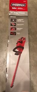 "*Snapper 58V 24"" Cordless Bushes Hedge Trimmer Briggs & Stratton BRAND NEW"